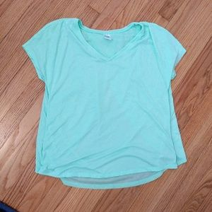 Old Navy mint athletic tee